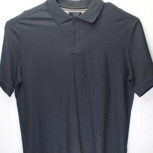 Nordstrom Men's Shop NWT S/S Black Polo Shirt XL